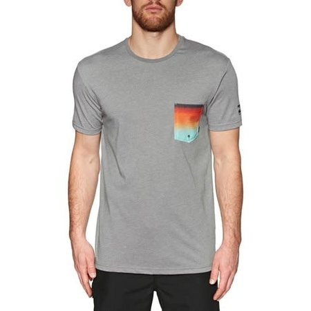Billabong Billabong Heren Pocket Tee Heather Grey