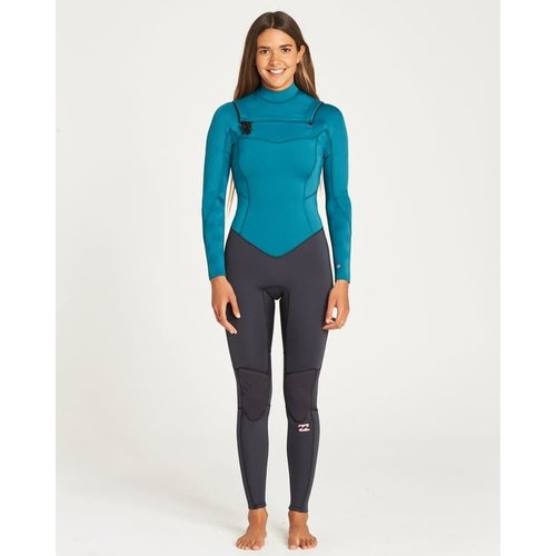 Billabong Billabong Furnace Synergy 3/2 Dames Zomer Wetsuit Pacific