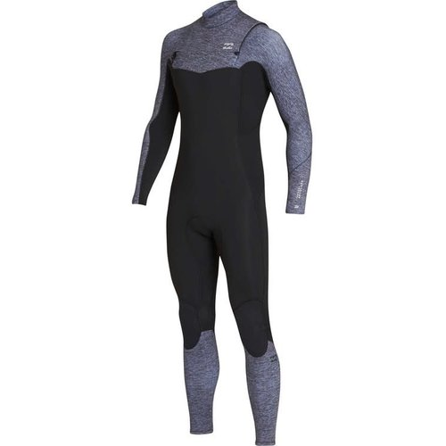 Billabong Billabong Furnace Absolute 3/2 Heren Zomer Wetsuit Grey Heather