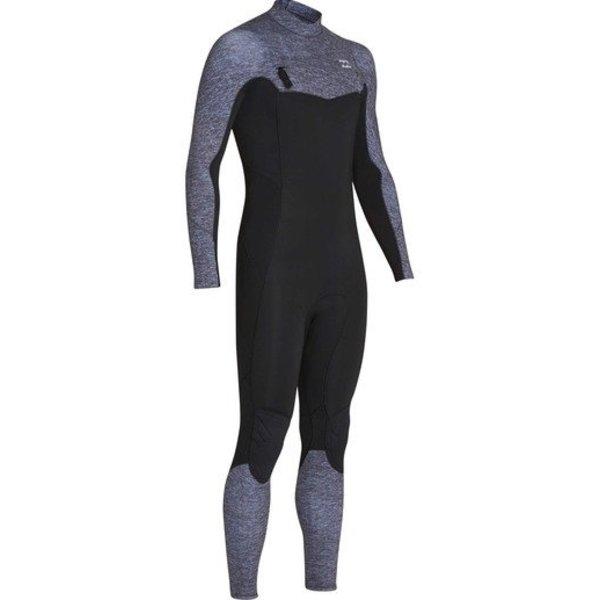 Billabong Furnace Absolute 3/2 Heren Zomer Wetsuit Grey Heather