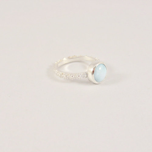 A Little Lem A Little Lem Fiona The Firecracker Larimar Ring