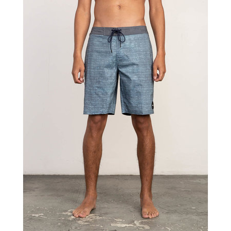 RVCA RVCA Heren Nakama Trunk Boardshorts Denim