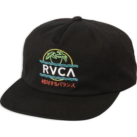 RVCA RVCA Vakay Snapback Hat Black