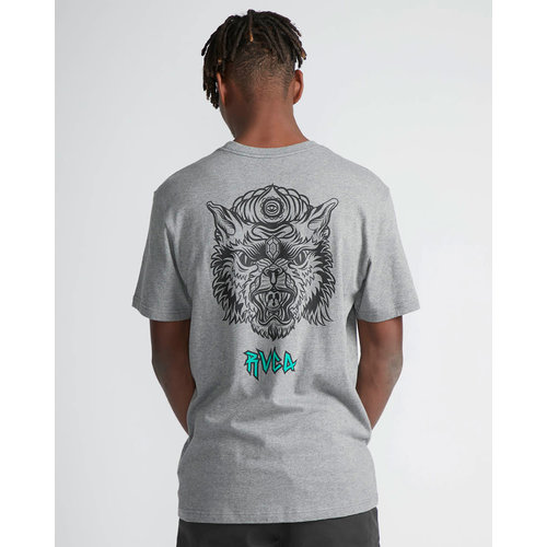 RVCA RVCA Heren Specimen Tee Athletic Heather
