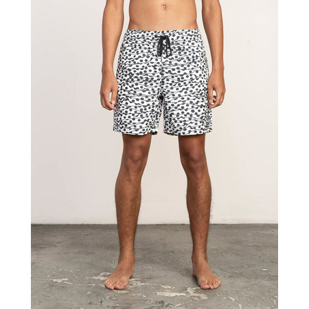 RVCA RVCA Heren Tom Gerrard Dots Trunk Boardshorts White