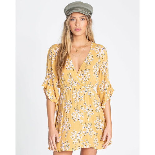 Billabong Billabong Dames Love Light Dress Golden Hour