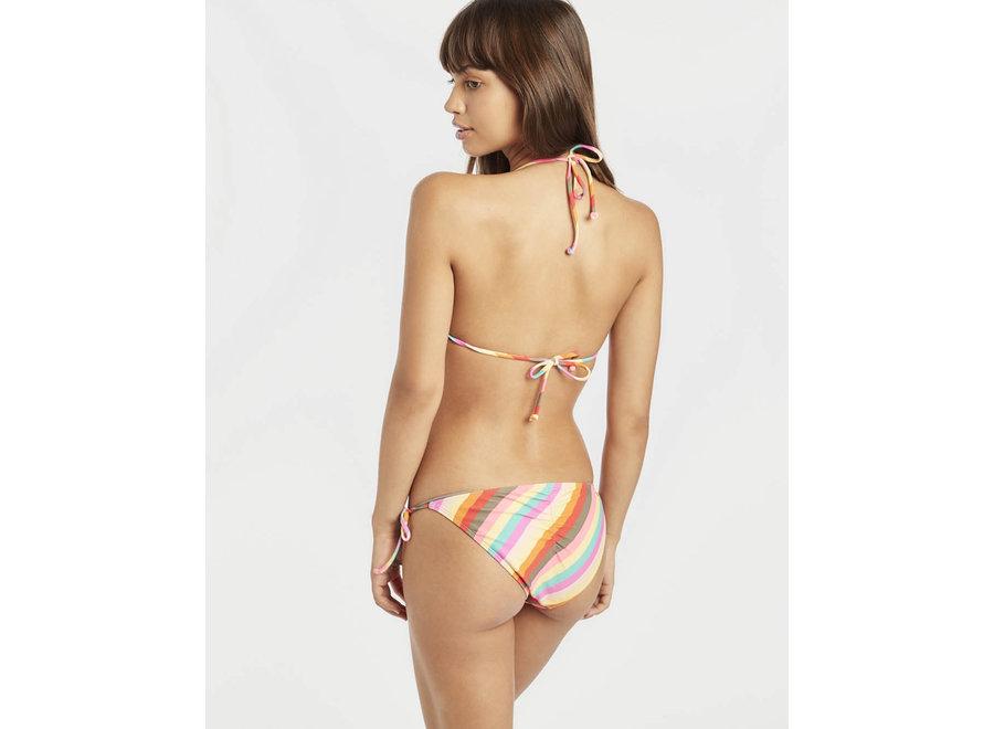 Billabong Dames Sol Searcher Triangle Bikini Top Stripes