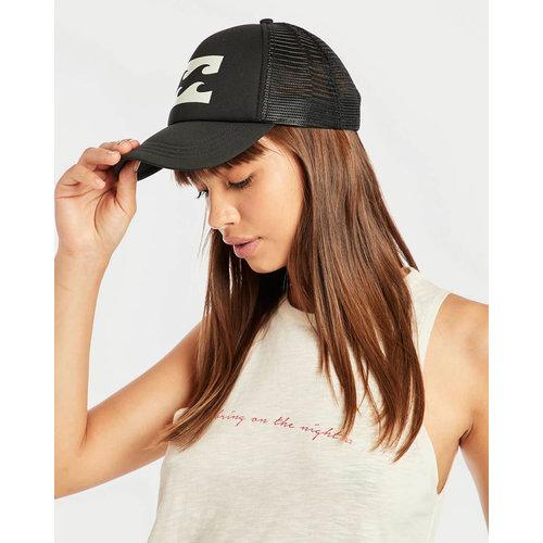 Billabong Billabong Dames Trucker Hat Off Black