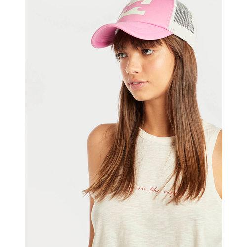 Billabong Billabong Dames Trucker Hat Pretty Pink