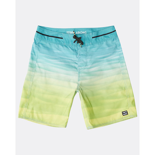 Billabong Billabong Kinder Resistance Originals Boardshorts Yellow