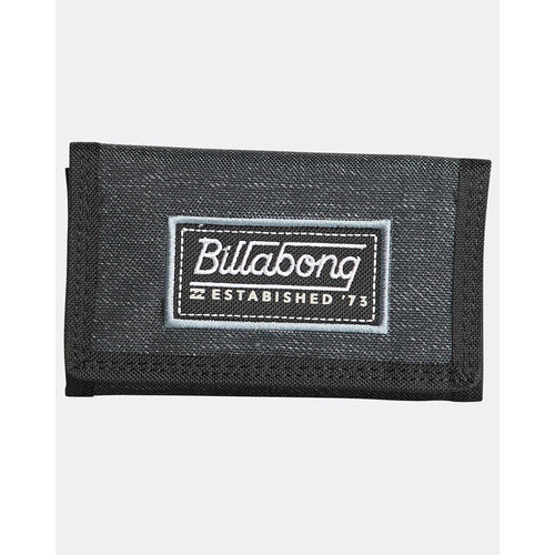 Billabong Billabong Walled 600D Wallet Black Heather