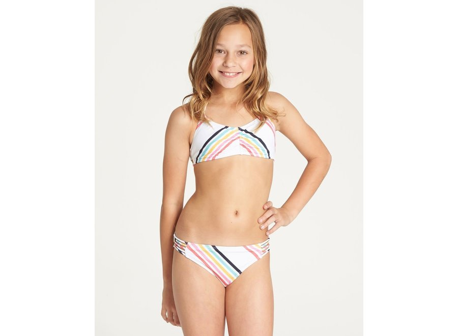 Billabong Girls Seeing Rainbows Tali Swim Set