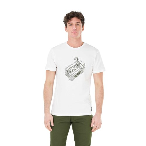 Picture Organic Clothing Picture Heren Tricana Tee White