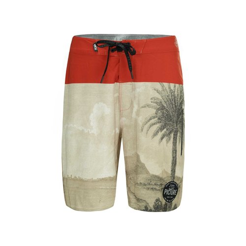 Picture Organic Clothing Picture Men's Code 19 Boardshorts Palmtree
