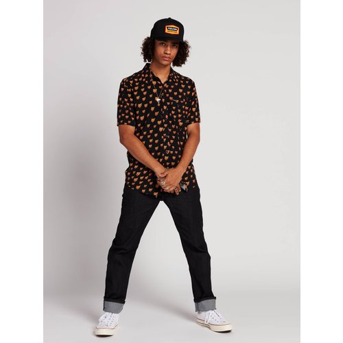 Volcom Volcom Heren Ozzie Cat Shirt Black