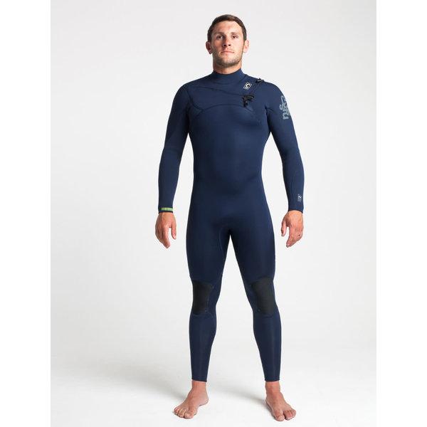 C-skins ReWired 4/3 Heren Wetsuit Slate/Diamond/Lime