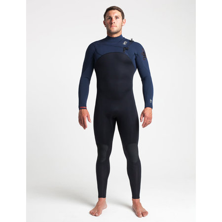 C-Skins C-skins ReWired 3/2 Heren Wetsuit Bl/Slate/Diamond/WarmRed