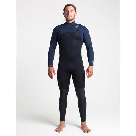 C-Skins C-skins ReWired 3/2 Heren Zomer Wetsuit Bl/Slate/Diamond/WarmRed