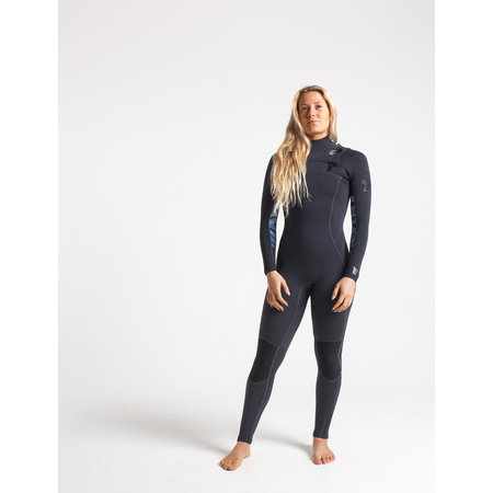 C-Skins C-Skins Solace 3/2 Dames Zomer Wetsuit Anthracite/Coral