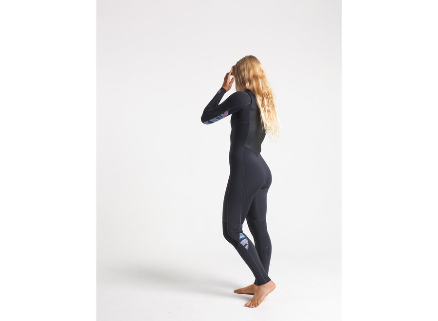 C-Skins Solace 3/2 Dames Wetsuit Anthracite/Coral