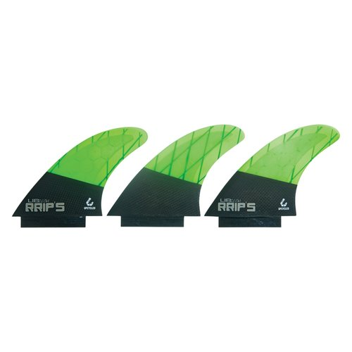 Lib Tech Lib Tech Thruster Fins Black/Green