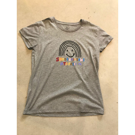 Volcom Volcom Dames Easy Babe Rad 2 Tee Heather Grey