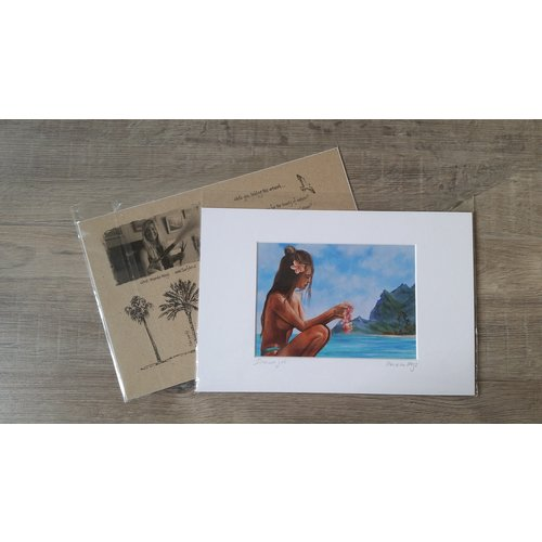 SurfArt SurfArt Print Dreamer Girl