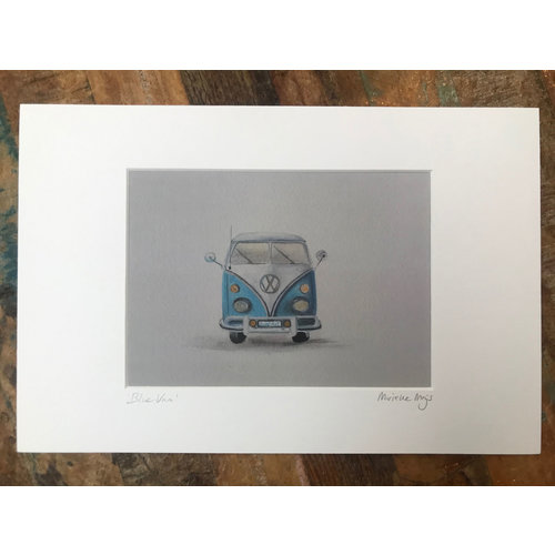 SurfArt SurfArt Print Blue Van