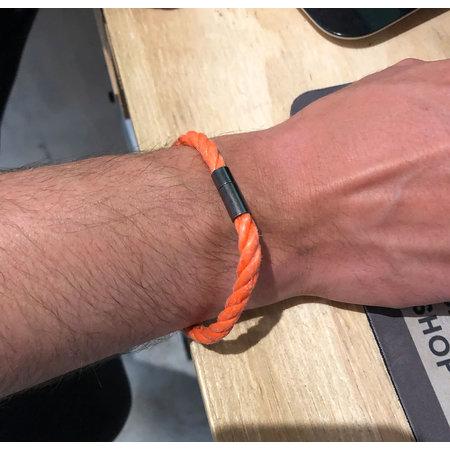 SurfArt SurfArt Ocean Trash Bracelet Orange Single