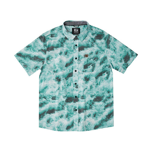 Hippy Tree Hippy Tree Heren Undertow Woven Shirt Blue