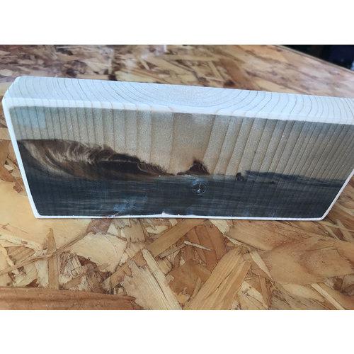 SurfArt SurfArt Print On Wood Dutch Barrels