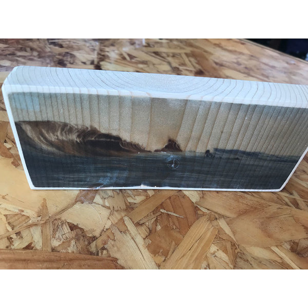 SurfArt Print On Wood Dutch Barrels