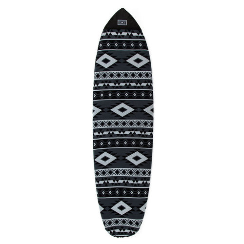 Creatures of Leisure Creatures Retro/Fish Boardsock Aztec Grey/Charcoal