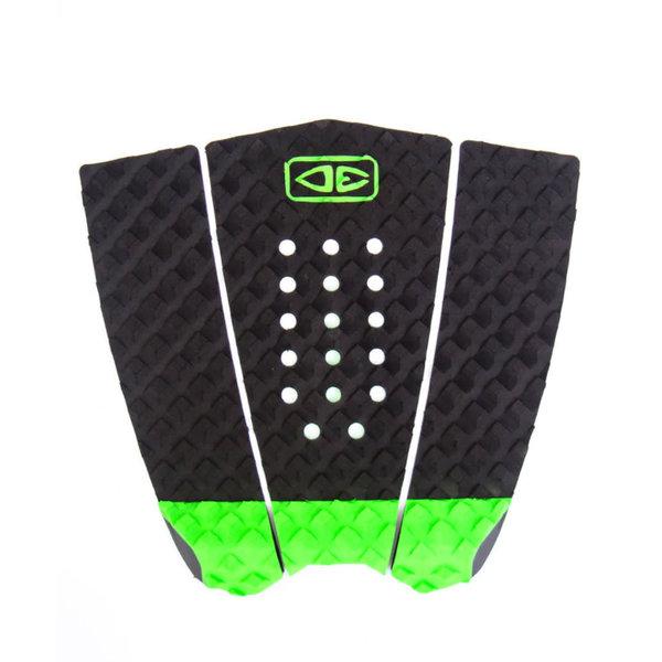 O&E Simple Jack Hybrid Tailpad Black/Lime
