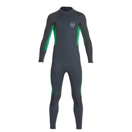 Xcel Xcel Axis All Nylon 3/2 Kids Summer Wetsuit Graphite / Green