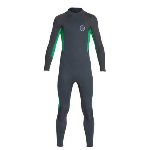 Xcel Xcel Axis All Nylon 3/2 Kinder Zomer Wetsuit Graphite/Green