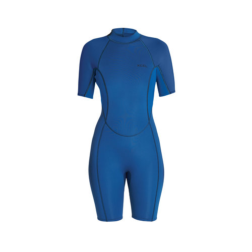 Xcel Xcel Axis 2mm Dames Wetsuit Shorty Faint Blue