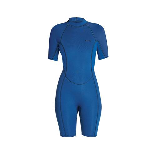 Xcel Xcel Axis 2mm Women's Wetsuit Shorty Faint Blue