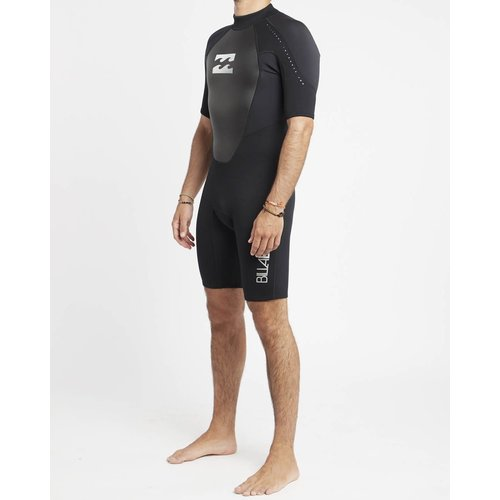 Billabong Billabong Intruder 2mm Heren Zomer Wetsuit Shorty Black