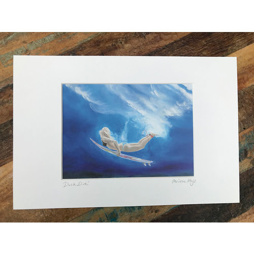 SurfArt SurfArt Print Duck Dive