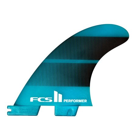 FCS FCS II Performer Neo Glass Thruster Fins Teal Gradient