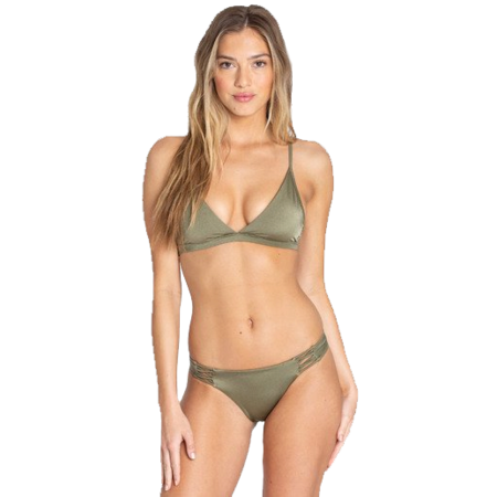 Billabong Billabong Dames Sol Searcher Tropic Bikini Bottom Sage