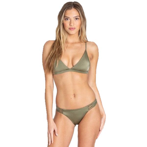 Billabong Dames Sol Searcher Tropic Bikini Bottom Sage