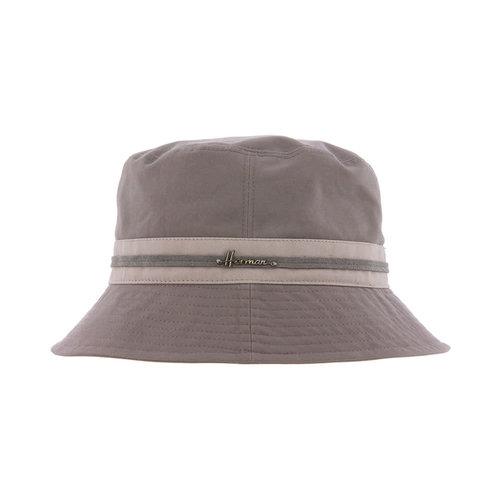 Herman Headwear Herman Bucket Hat Grey