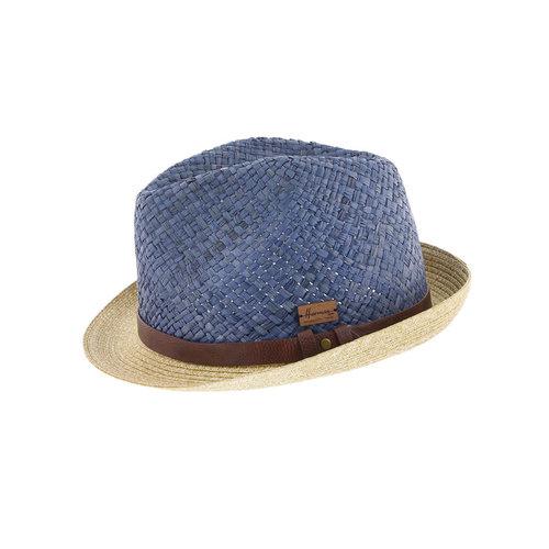 Herman Headwear Herman Don Dallas Hat Blauw