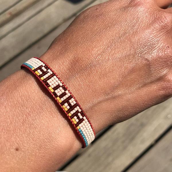 Aloha Retro ALOHA Armband