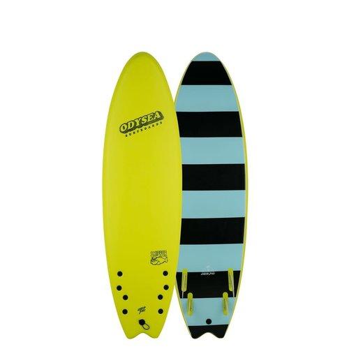 Catch Surfboards Catch Odysea 6'6'' Skipper Quad Electric Lemon