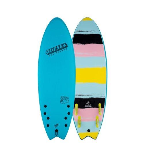 Catch Surfboards Catch Odysea 6'0'' Skipper Quad Blue Curacao
