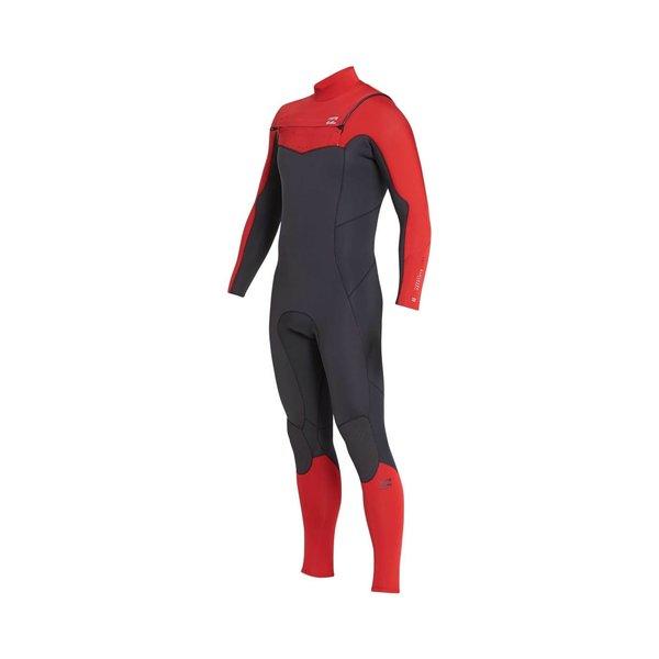 Billabong 3/2 Absolute Kinder Wetsuit Red