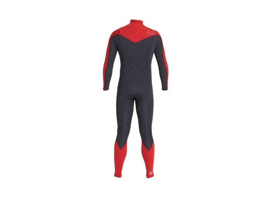 Billabong 3/2 Absolute Kinder Wetsuit Red
